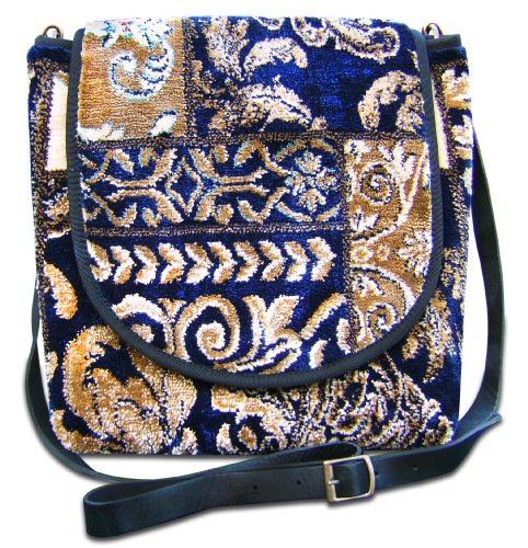 Made Of Carpet Express Applique Murale Bleu Marine - Petit Sac Messenger