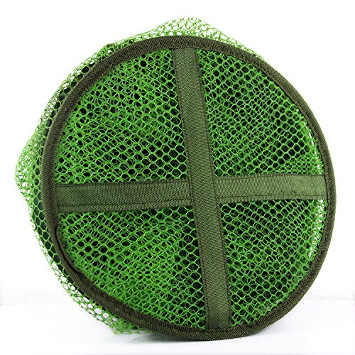 Net Hanging Collapsible Solar (green)shun yi (Pond Fishnet)
