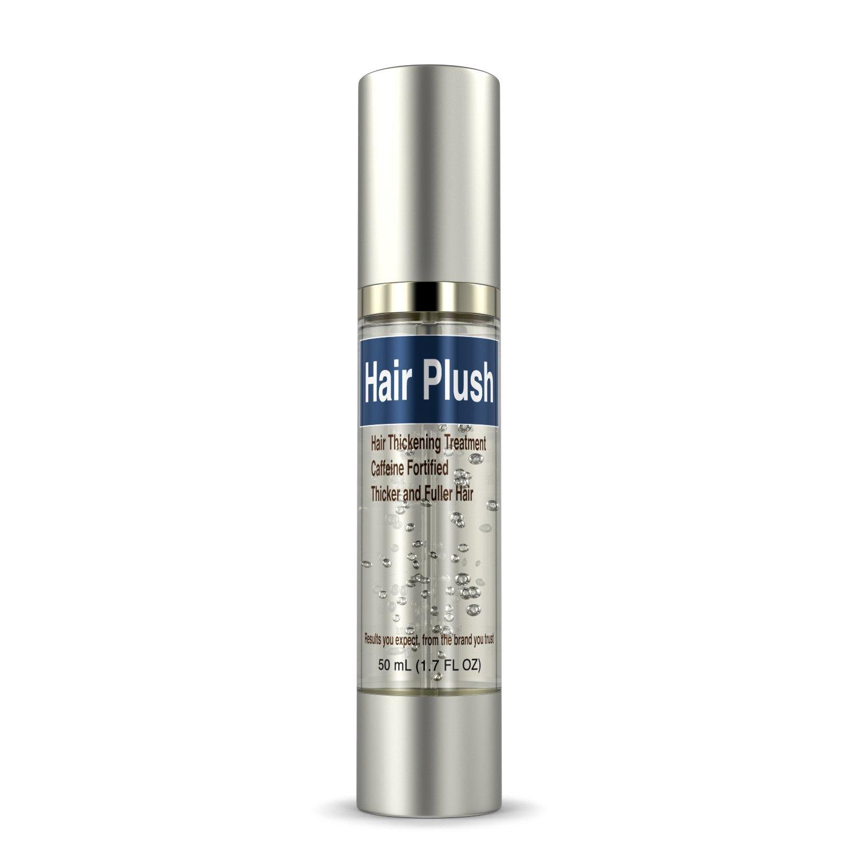 Ultrax Labs Hair Plush | Lush Caffeine Hair Loss Hair Growth Thickening Treatment Formula Serum