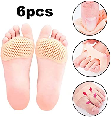 High Heel Breathable Inserts Shoes Insole  Foot Cushions Forefoot Pad Anti-Slip