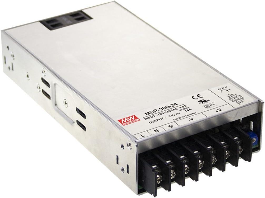 Mean Well Original MSP-300-7.5 Enclosed-PFC Medical Power Supplies 7.5V 40A