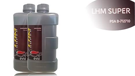 Agip LHM Super, especial de hidráulico líquido, 2 x 1Ltr. Botella