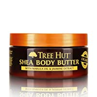 Tree Hut 24 Hour Intense Hydrating Shea Body Butter Marula & Jasmine, 7oz, Hydrating Moisturizer with Pure Shea Butter for Nourishing Essential Body Care