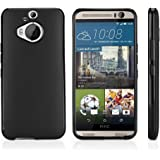 HTC One (M9) Plus Case, BoxWave [Blackout Case] Durable, Slim Fit, Black TPU Cover for HTC One (M9) Plus