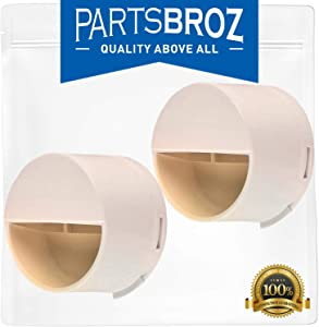 2260518W Water Filter Cap (2-Pack) by PartsBroz - Compatible with Whirlpool Refrigerators - Replaces 2260502W, 2260518W, PS11739972, WP2260518WVP