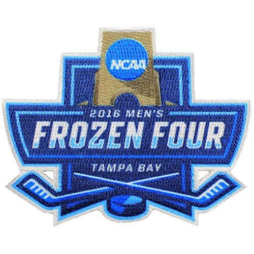 2016 NCAA Men's Hockey Frozen Four Official Jersey Patch Denver North Dakota Quinnipiac Boston College