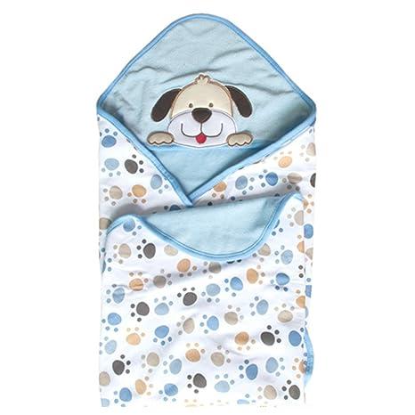 GudeHome Manta para bebés Babies Kids Baby Baño Toalla con capucha, 100% algodón.