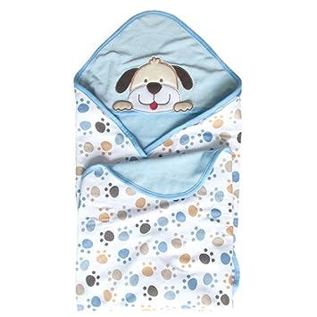 GudeHome Manta para bebés Babies Kids Baby Baño Toalla con capucha, 100% algodón. Diseño Original(perro): Amazon.es: Ropa y accesorios