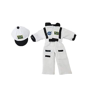 Amazon.com: Blanco traje de astronauta de la NASA | Fits ...