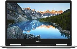 Dell Inspiron 13 7373 13.3-Inch 256GB SSD Core i7 2-in-1 Touch-Screen Laptop (16GB RAM, Intel Core i7-8550U, Windows 10 Home) I7373-7227GRY - Era Gray