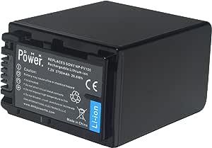 DMK NP-FV100 battery for SONY HDR-CX150 HDR-CX150V DCRSX44R DCRSX44L XR550E XR350E XR150E.etc