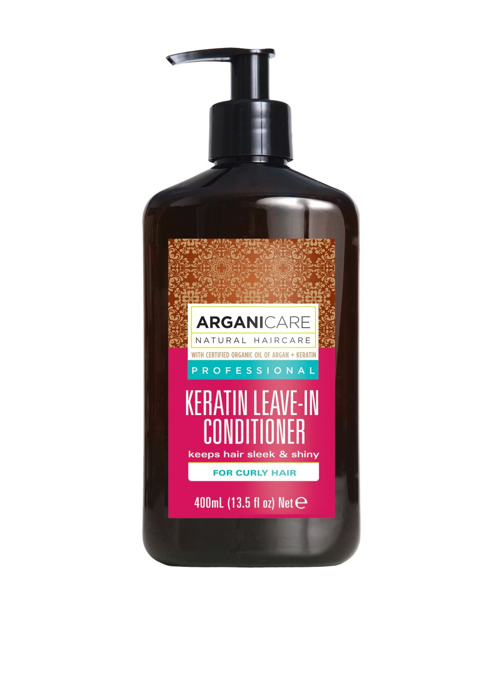 ArganiCARE Conditioner ohne Ausspülen Keratin For Curly Hair 400 ml, Preis/100 ml: 4.99 EUR AGN024 1163_-400ml