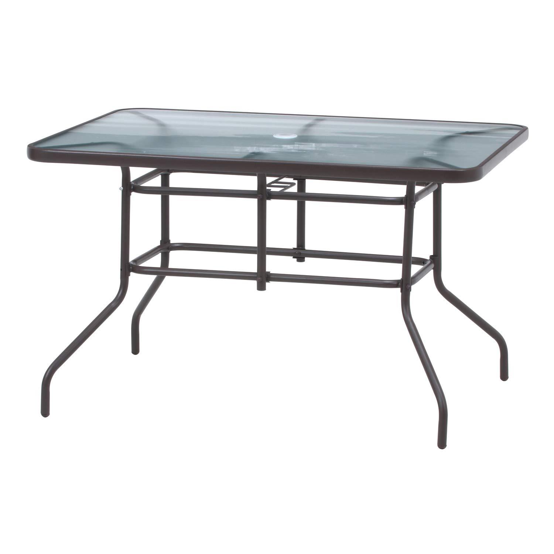 不二貿易 ガラステーブル 幅120×奥行86cm ブラウン 37293 B07QRK1WFJ  ガラステーブル/幅120cm