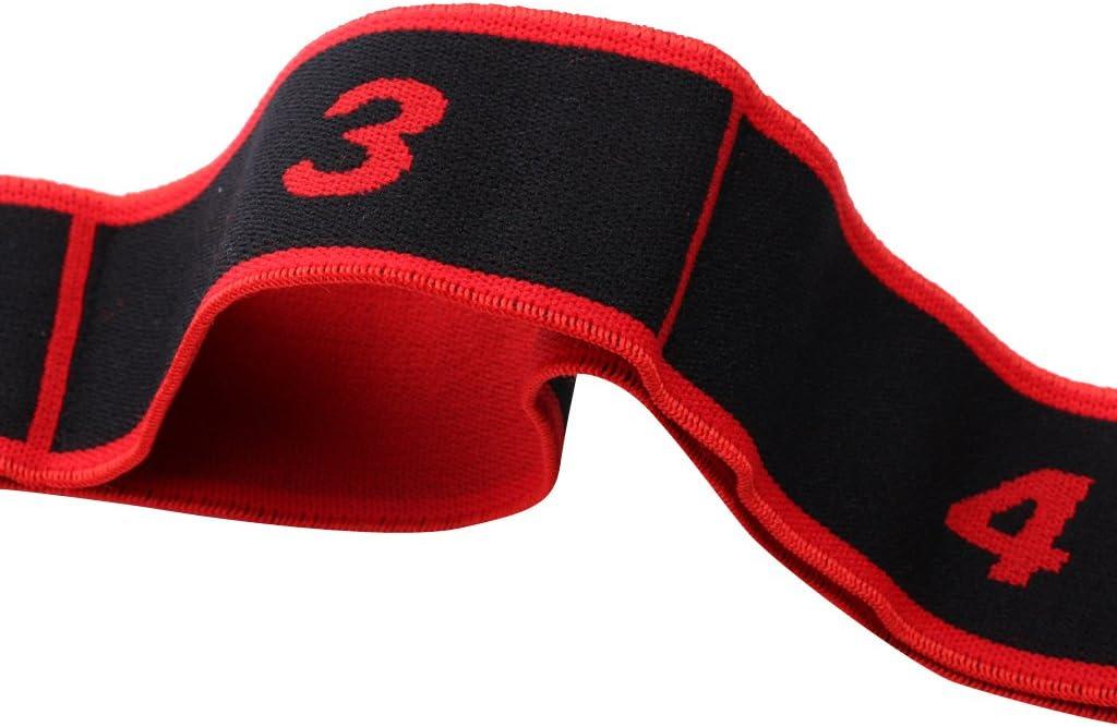 Rouge Akozon Fitness Bande /élastique Bandes /élastiques 90x4cm Ceinture de r/ésistance Yoga Sling Accessoire dexercice pour la Formation