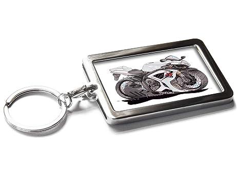 Amazon.com: Llavero de metal con caja de regalo, diseño de ...