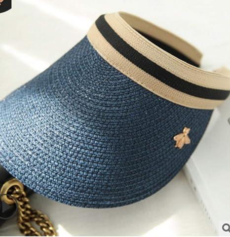 ZHAOSHOP Gorras de algodón Sombrero de Copa vacío Sombrero de Sol Verano no Superior Grupo de Sombreros Entre Padres e Hijos fábrica de impresión Personalizada por Mayor: Amazon.es: Deportes y aire libre