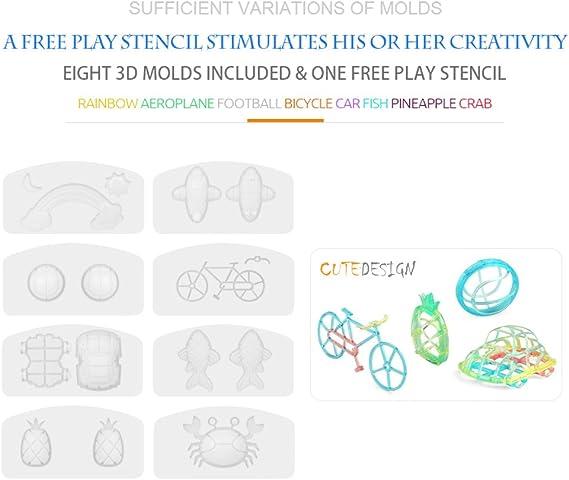 Goolsky Wei Yuan Juguetes WY360-1 3D Impresora Mágica Juguete ...
