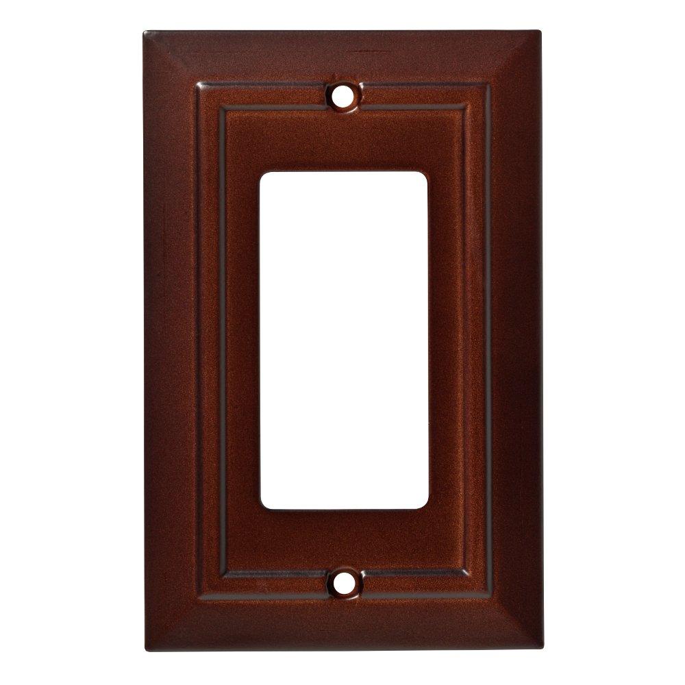 Franklin Brass W35243-ESO-C Classic Architecture Single Decorator Wall Plate/Switch Plate/Cover, Espresso