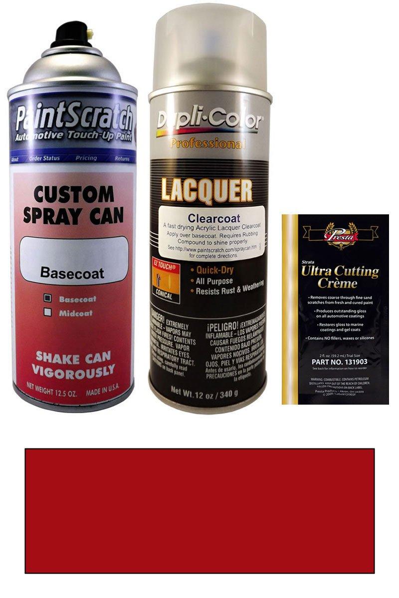 Amazon com 12 5 oz dupont imron red spray can paint kit for 2000 fleet basecoat 29198 automotive