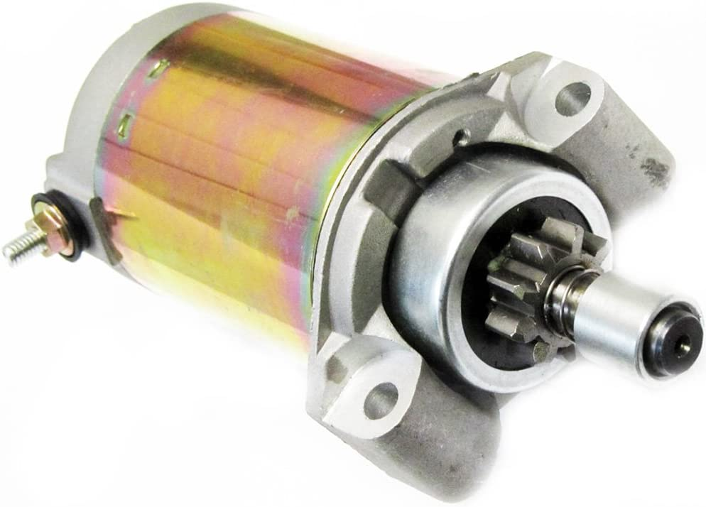 Caltric Starter Compatible With John Deere Kawasaki 9Hp Various Fc290V