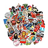 Image of 8 Series Stickers 100 pcs/pack Stickers Variety Vinyl Car Sticker Motorcycle Bicycle Luggage Decal Graffiti Patches Skateboard Stickers for Laptop Stickers For Kid And Adult (Series A)