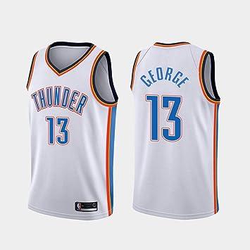 canottejerseyNBA Camiseta de Baloncesto Paul George 13 Oklahoma ...