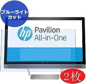 """【2 Pack】 Synvy Anti Blue Light Screen Protector for HP Pavilion 24-b200 All-in-One AIO/b227a/b259/b225a/b240/b223w/b209na/b240qe/b277c/b259na/b240nz 23.8"""" [Not Tempered Glass]"""