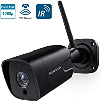 $39 » Outdoor Security Camera, 1080P WiFi Camera Wireless Surveillance Cameras, PIR Smart Motion…