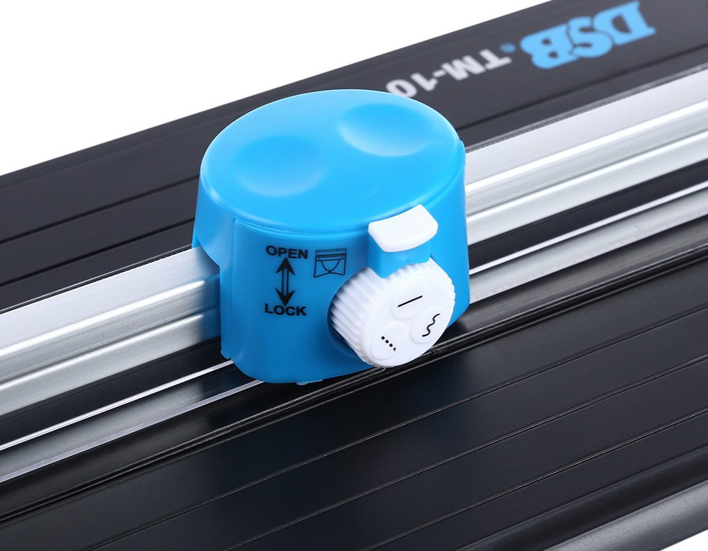 SHUOGOU A4 Paper Trimmer/Photo Cutter with Straight Perforation and Wave 3 Cutting Style - One Additional Cutting Mat Strip, Photos Or Labels by SHUOGOU (Image #4)