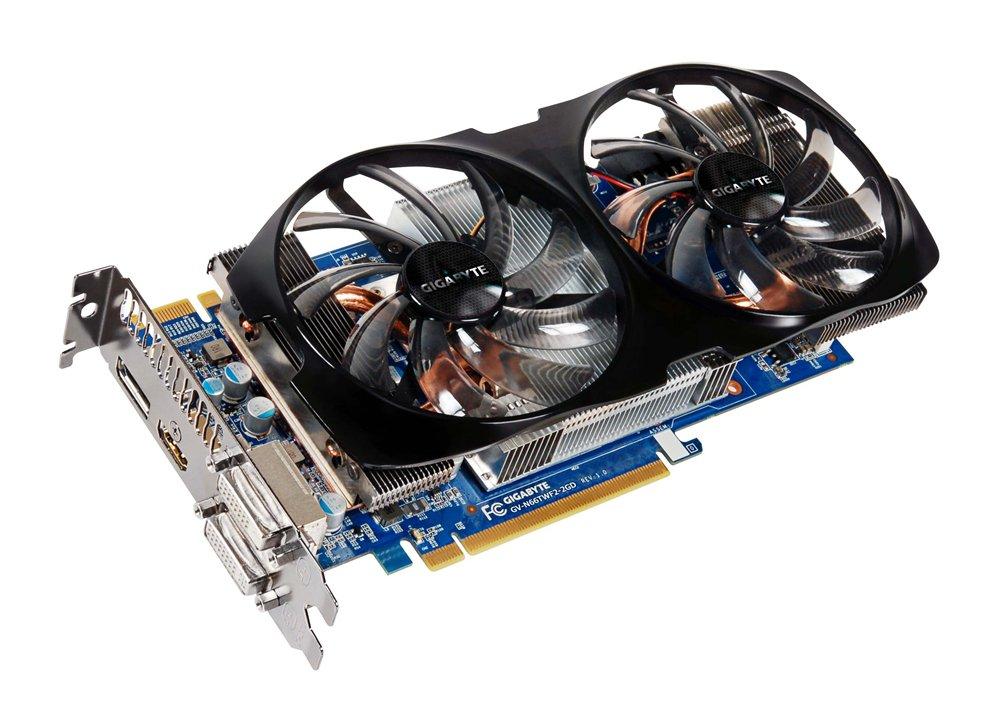 Gigabyte GV-N66TWF2-2GD GeForce GTX 660 Ti 2GB GDDR5 ...