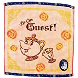Beauty and the Beast steam shirring wash towel/cup of tea