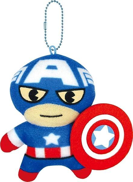 Ts factory - Llavero de Felpa con diseño de Capitán América ...