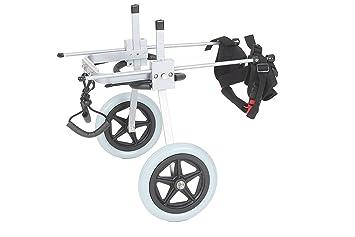 Silla de ruedas ajustable para perro,con altura de la cadera: de 20,