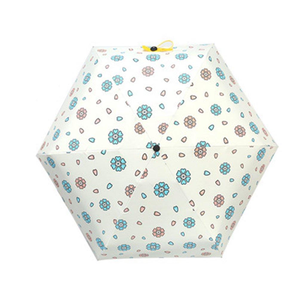 hot sale 2017 EBRICKON Mini Pocket Umbrella Women Super Light Creative 5Fold Pocket British Style Manual Umbrella Rain/Sun Women Kids