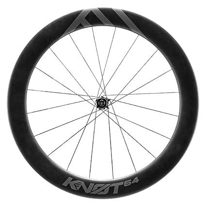 647dd1a8aeb Amazon.com : Cannondale HollowGram Knot 64 Tubeless Aero Carbon Disc  Clincher 142x12 Rear Wheel : Sports & Outdoors