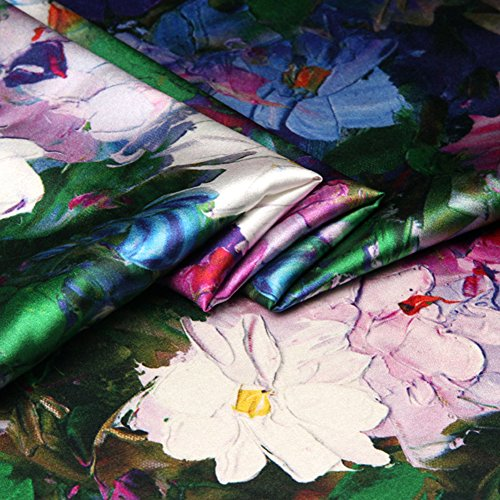 Summer Fabrics Satin Fabric - 2