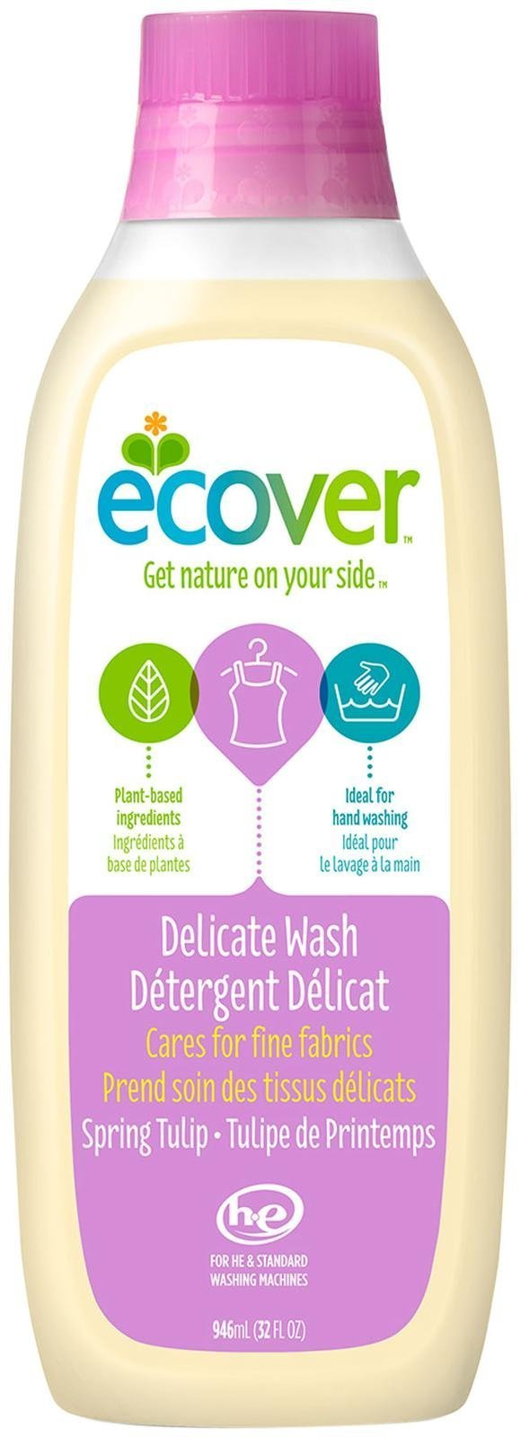 Ecover Fabric Softener Liquid Morning Fresh 32 Ounce Daia Softergent Violet Delicate Wash Oz