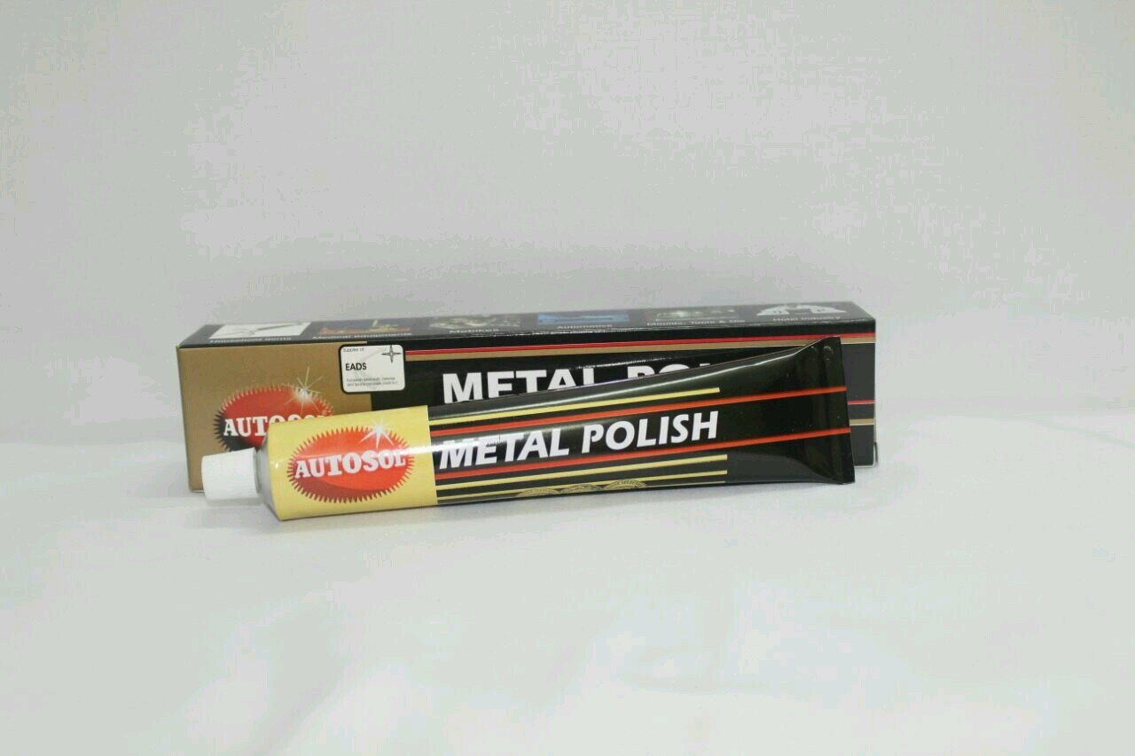 Autosol Chrome pasta de limpieza/tubo 75ml Individual: Amazon.es: Coche y moto