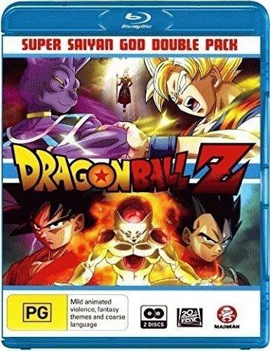Dragon Ball Z : Battle of Gods / Dragon Ball Z - Super Saiyan God Double Pack ( Dragon Ball Z: Kami to kami ) ( Battle of Gods / Resurrectio [ Origine Australien, Sans Langue Francaise ] (Blu-Ray) (Blu Ray Dragon Ball Z Battle Of Gods)