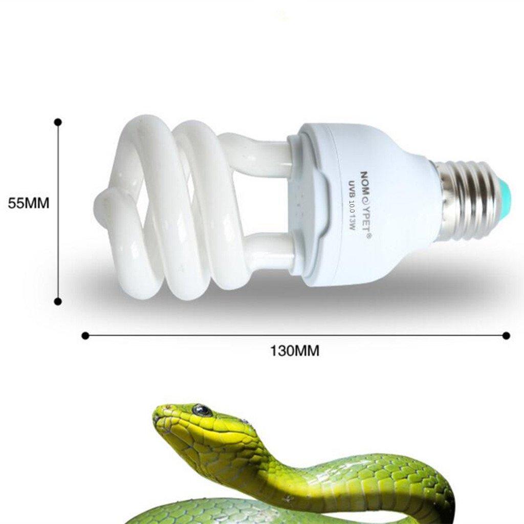 Sharplace Illuminazione di Interni 10.0//5.0/Luce Ultravioletta uvb Tartaruga Rettile Lagarto Lampadina Globo E27/ 10.0
