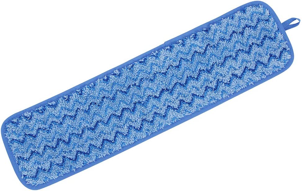 Single-Sided Rubbermaid Commercial 1863895 Executive Series HYGEN Multi-Purpose Microfiber Wet Flat Mop Pad,18-inch