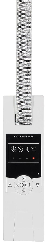 Rademacher 14154511 RolloTron Standard DuoFern - Interruptor de persianas y puertas automá ticas (minitira), color blanco