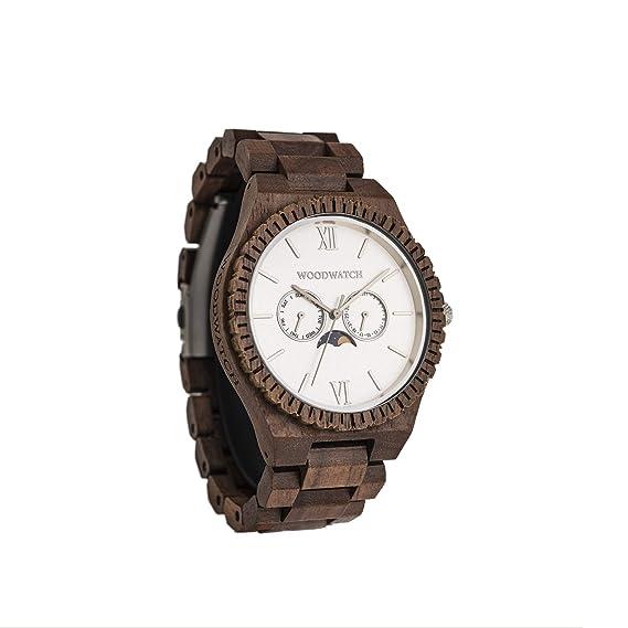 Madera Reloj Hombre   White Atlas   Relojes de Madera Natural   la Wood Watch Oficial