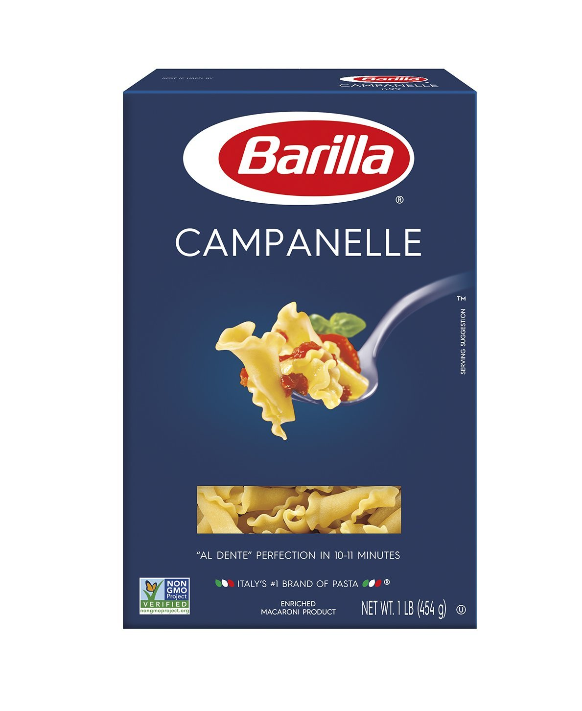 Barilla Pasta, Campanelle, 16 Ounce (Pack of 12) by Barilla