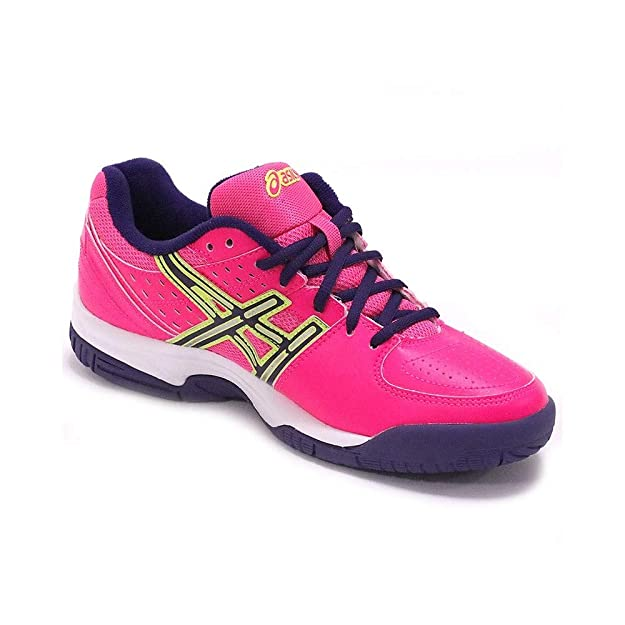Asics Gel-Padel Pro 2Gs Rosa/Morado Amarillo Flash: Amazon.es: Zapatos y complementos