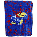 College Covers Kansas Jayhawks Throw Blanket/Bedspread