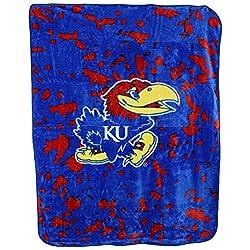 College Covers Kansas Jayhawks Throw Blanketbedspread
