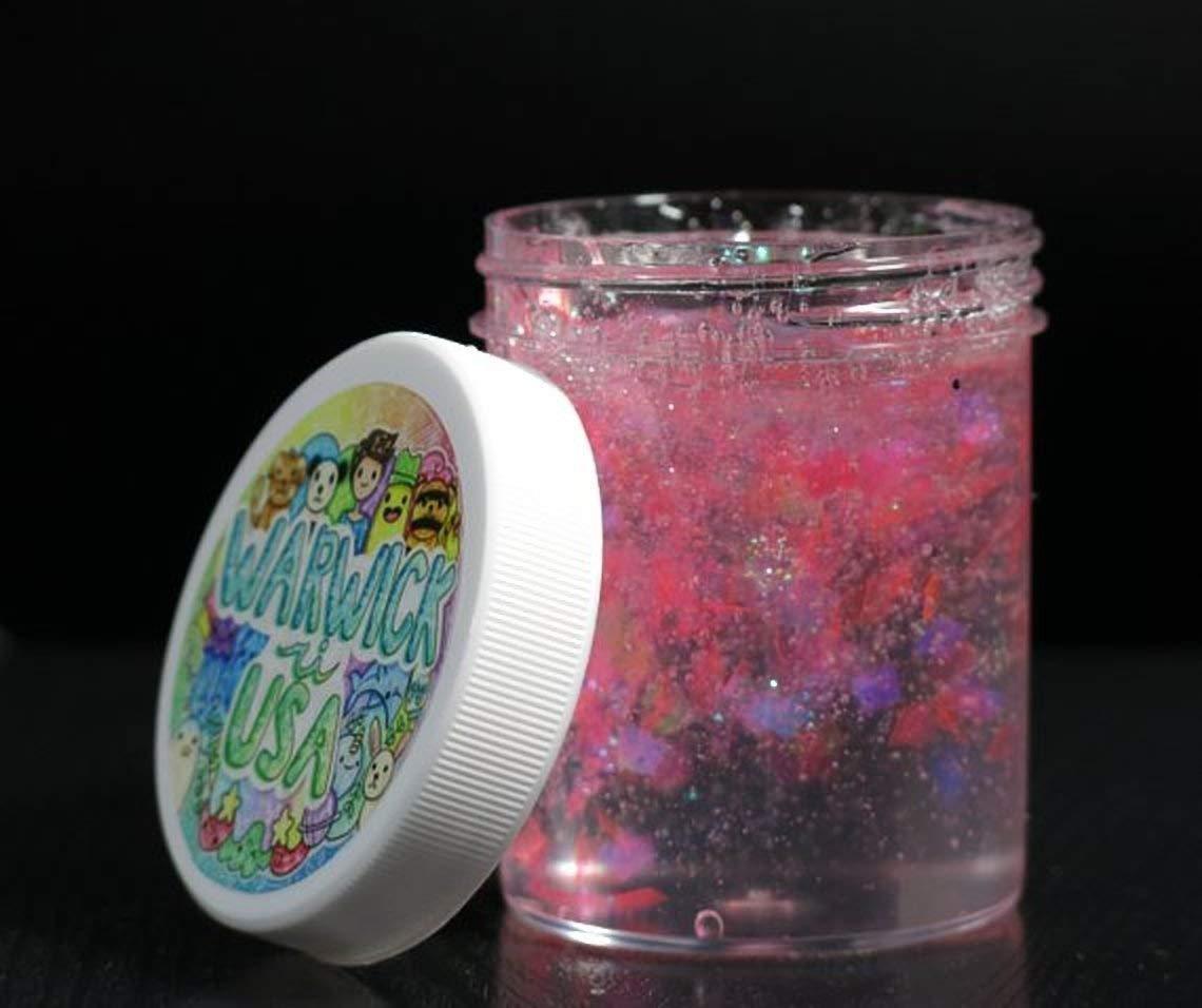 Iridescent Pink Unicorn Skin Slime (Non-Scented)