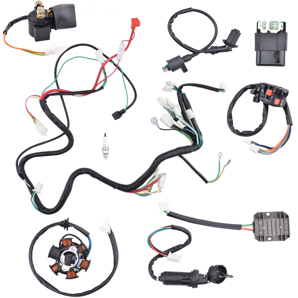 Wiring Harness Design Together With 1996 Suzuki Dr 125 Wiring Diagrams