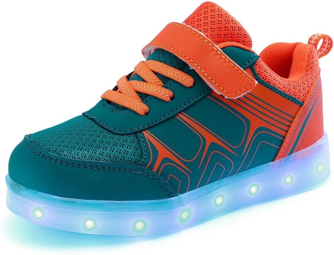 sexphd Kids LED Light Up Shoes Kids Fashion Sneakers Sports